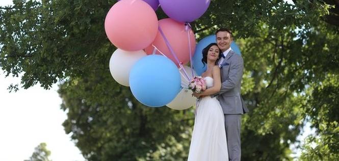 Шарики Сочи. Свадебные шары.